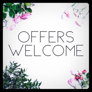 💕Offers Welcome!